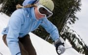 滑雪圣地 阿尔卑斯山度假壁纸 享受滑雪速度图片壁纸 滑雪圣地阿尔卑斯山度假壁纸 人文壁纸