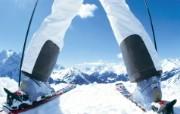 滑雪圣地 阿尔卑斯山度假壁纸 滑雪前的准备图片壁纸 滑雪圣地阿尔卑斯山度假壁纸 人文壁纸