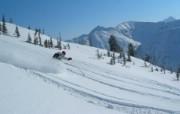 滑雪圣地 阿尔卑斯山度假壁纸 高山滑雪图片壁纸 滑雪圣地阿尔卑斯山度假壁纸 人文壁纸