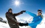 滑雪圣地 阿尔卑斯山度假壁纸 滑雪场度假图片壁纸 滑雪圣地阿尔卑斯山度假壁纸 人文壁纸