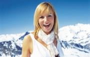 滑雪圣地 阿尔卑斯山度假壁纸 留下靓影图片壁纸 滑雪圣地阿尔卑斯山度假壁纸 人文壁纸
