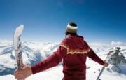 滑雪圣地 阿尔卑斯山度假壁纸 滑雪度假图片壁纸 滑雪圣地阿尔卑斯山度假壁纸 人文壁纸