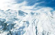滑雪圣地 阿尔卑斯山度假壁纸 阿尔卑斯山图片壁纸 滑雪圣地阿尔卑斯山度假壁纸 人文壁纸