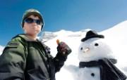 滑雪圣地 阿尔卑斯山度假壁纸 雪人鼻子好营养图片壁纸 滑雪圣地阿尔卑斯山度假壁纸 人文壁纸