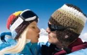 滑雪圣地 阿尔卑斯山度假壁纸 山顶留念图片壁纸 滑雪圣地阿尔卑斯山度假壁纸 人文壁纸
