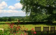 宽屏花园风景壁纸下载 宽屏花园风景壁纸下载 人文壁纸