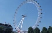 伦敦城市略影 英航伦敦眼图片壁纸London Vacation London Travel Spot 伦敦城市景观 人文壁纸