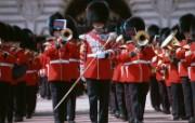 伦敦城市略影 伦敦皇家卫队图片壁纸 伦敦城市景观 人文壁纸
