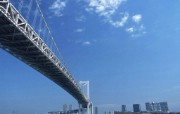 壮观美丽的桥梁风景 天空桥梁图片 海湾大桥 Stock Photographs of Bridges Photos 桥梁风景 人文壁纸