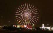 日本夜色摩天轮 Odaiba Ferris wheel 日本夜景摩天轮图片 Japan Travel Odaiba Ferris wheel Photo 日本夜景夜色摩天轮 人文壁纸