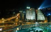 上海夜景繁华之都 人文壁纸