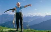 世界公园 瑞士夏季旅游名胜 Hochalp Eastern Switzerland 森蒂斯顶峰图片壁纸 世界公园瑞士夏季旅游名胜 人文壁纸