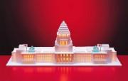 世界建筑模型大观 第二辑 世界著名建筑模型图片 Paper models of world famous buildings 世界建筑模型大观二 人文壁纸
