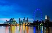 世界最大的摩天轮新加坡摩天观景轮壁纸 人文壁纸
