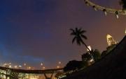 世界最大的摩天轮 新加坡摩天观景轮壁纸 新加坡摩天轮夜景桌面壁纸 世界最大的摩天轮新加坡摩天观景轮壁纸 人文壁纸