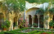 庭院艺术 庭院艺术 人文壁纸