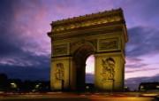 法国巴黎凯旋门壁纸 文化之旅地理人文景观壁纸精选 第二辑 人文壁纸