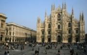 意大利 米兰大教堂壁纸 文化之旅地理人文景观壁纸精选 第二辑 人文壁纸