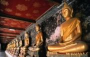 泰国曼谷金佛壁纸 文化之旅地理人文景观壁纸精选 第二辑 人文壁纸