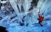 法国上萨瓦省 冰上攀登壁纸 文化之旅地理人文景观壁纸精选 第二辑 人文壁纸