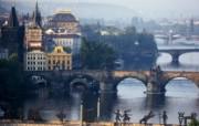 布拉格 伏尔塔瓦河壁纸 文化之旅地理人文景观壁纸精选 第二辑 人文壁纸