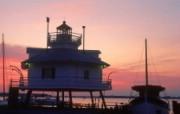 马里兰州 绮沙比克湾灯塔壁纸 文化之旅地理人文景观壁纸精选 第二辑 人文壁纸