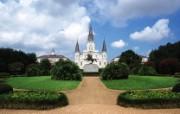 新奥尔良 圣路易大教堂壁纸 文化之旅地理人文景观壁纸精选 第二辑 人文壁纸
