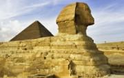 埃及开罗 吉萨狮身人面像壁纸 文化之旅地理人文景观壁纸精选 第二辑 人文壁纸