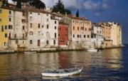 文化之旅 地理人文景观壁纸精选 第一辑 Adriatic Sea at Sunrise Rovigno Croatia 克罗地亚 亚得里亚海建筑图片壁纸 文化之旅地理人文景观一 人文壁纸