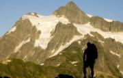 文化之旅 地理人文景观壁纸精选 第一辑 Backpacking in North Cascades National Park Washington 华盛顿北瀑布国家公园登山客图片壁纸 文化之旅地理人文景观一 人文壁纸