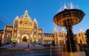 文化之旅 地理人文景观壁纸精选 第一辑 British Columbia Provincial Parliament Victoria British Columbia BC省 维多利亚国会大楼图片壁纸 文化之旅地理人文景观一 人文壁纸