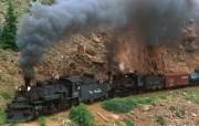 文化之旅 地理人文景观壁纸精选 第一辑 Cumbres and Toltec Steam Train Colorado 库博勒斯和托尔特克蒸汽火车图片壁纸 文化之旅地理人文景观一 人文壁纸
