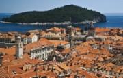文化之旅 地理人文景观壁纸精选 第一辑 Historic Dubrovnik Croatia and the Adriatic Sea 克罗地亚的世界堡垒 杜布罗夫尼克图片壁纸 文化之旅地理人文景观一 人文壁纸