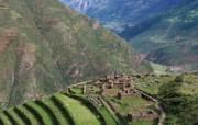 文化之旅 地理人文景观壁纸精选 第一辑 Inca Ruins Pisac Peru 秘鲁 印加遗迹图片壁纸 文化之旅地理人文景观一 人文壁纸