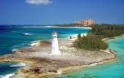 文化之旅 地理人文景观壁纸精选 第一辑 Paradise Island Nassau Bahamas 巴哈马拿骚 天堂岛图片壁纸 文化之旅地理人文景观一 人文壁纸