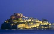 文化之旅 地理人文景观壁纸精选 第一辑 Peniscola Valencia Spain 西班牙瓦伦西亚 潘尼斯科拉古堡图片壁纸 文化之旅地理人文景观一 人文壁纸