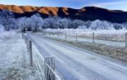 田纳西州 大烟山国家公园冬季壁纸 文化之旅地理人文景观一 人文壁纸