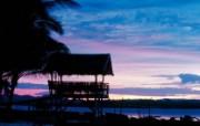 菲律宾 锡亚高岛黄昏壁纸 文化之旅地理人文景观一 人文壁纸
