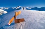 温泉与滑雪 瑞士冬季旅游景点壁纸 Brunni 布汝尼山图片壁纸 温泉与滑雪瑞士冬季旅游景点壁纸 人文壁纸