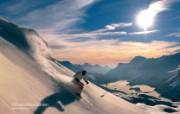 温泉与滑雪 瑞士冬季旅游景点壁纸 Corvatsch Graubünden 瑞士科尔瓦奇峰图片壁纸 温泉与滑雪瑞士冬季旅游景点壁纸 人文壁纸