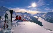 温泉与滑雪 瑞士冬季旅游景点壁纸 Corvatsch Graubuenden 科尔瓦奇峰图片壁纸 温泉与滑雪瑞士冬季旅游景点壁纸 人文壁纸