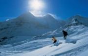 温泉与滑雪 瑞士冬季旅游景点壁纸 Grindelwald 格林德瓦尔德图片壁纸 温泉与滑雪瑞士冬季旅游景点壁纸 人文壁纸