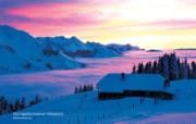 温泉与滑雪 瑞士冬季旅游景点壁纸 Gurnigel Schweizer Mittelland 瑞士高原图片壁纸 温泉与滑雪瑞士冬季旅游景点壁纸 人文壁纸
