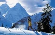 温泉与滑雪 瑞士冬季旅游景点壁纸 Hasliberg 哈斯利伯格图片壁纸 温泉与滑雪瑞士冬季旅游景点壁纸 人文壁纸