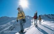 温泉与滑雪 瑞士冬季旅游景点壁纸 Heidiland 海蒂图片壁纸 温泉与滑雪瑞士冬季旅游景点壁纸 人文壁纸