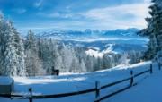 温泉与滑雪 瑞士冬季旅游景点壁纸 Bachtel 贝克特山图片壁纸 温泉与滑雪瑞士冬季旅游景点壁纸 人文壁纸