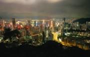 香港港岛夜景壁纸HongKong Travel Hongkong Night View 香港旅游景点壁纸 人文壁纸