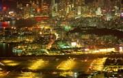 香港旧启德机场HongKong Travel Hongkong Night View 香港旅游景点壁纸 人文壁纸