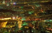 香港九龙区夜景HongKong Travel Hongkong Night View 香港旅游景点壁纸 人文壁纸