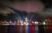 香港维多利亚海港夜景HongKong Travel Hongkong Night View 香港旅游景点壁纸 人文壁纸
